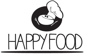 logo happy food