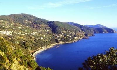 Immagine della costa di Framura