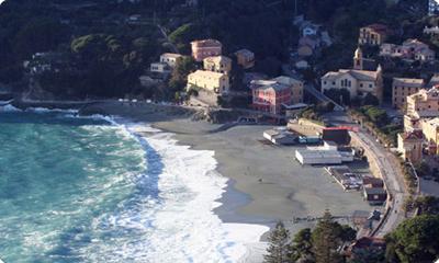 Immagine della costa di Bonassola