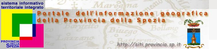Immagine del logo del Portale dell'Informazione Geografica della Provincia della Spezia