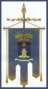 Immagine del gonfalone della provincia della Spezia