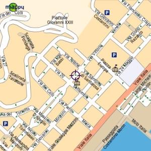 Immagine della mappa di ubicazione del Palazzo del Governo di Via Vittorio Veneto 2