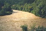 Foto dell'alluvione del 2000