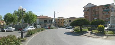 Foto del borgo di Sesta Godano