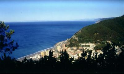 Foto della costa di Deiva Marina