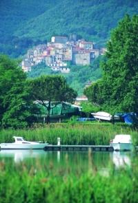 Immagine del borgo di Ameglia