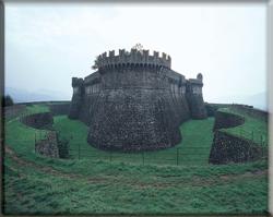 Immagine della Fortezza di Sarzanello